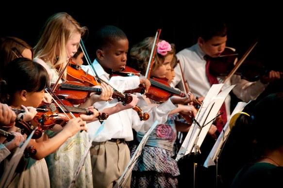 strings in the schools