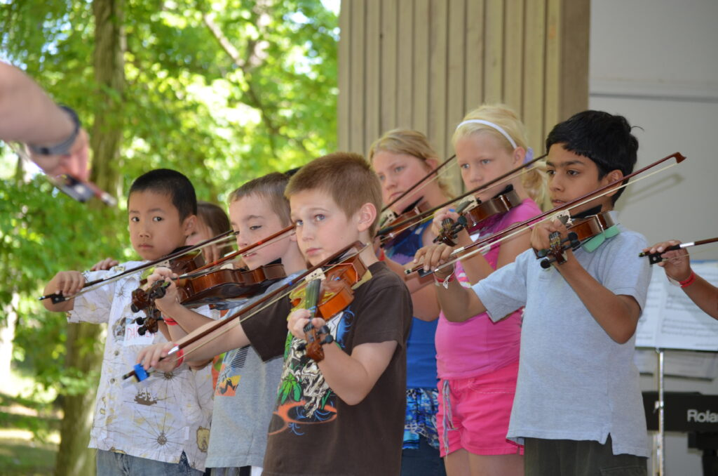 Strings Camp Performance Rehearsal